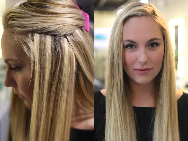 Tape In Hair Extensions St Louis Best Hair Extensions Salon